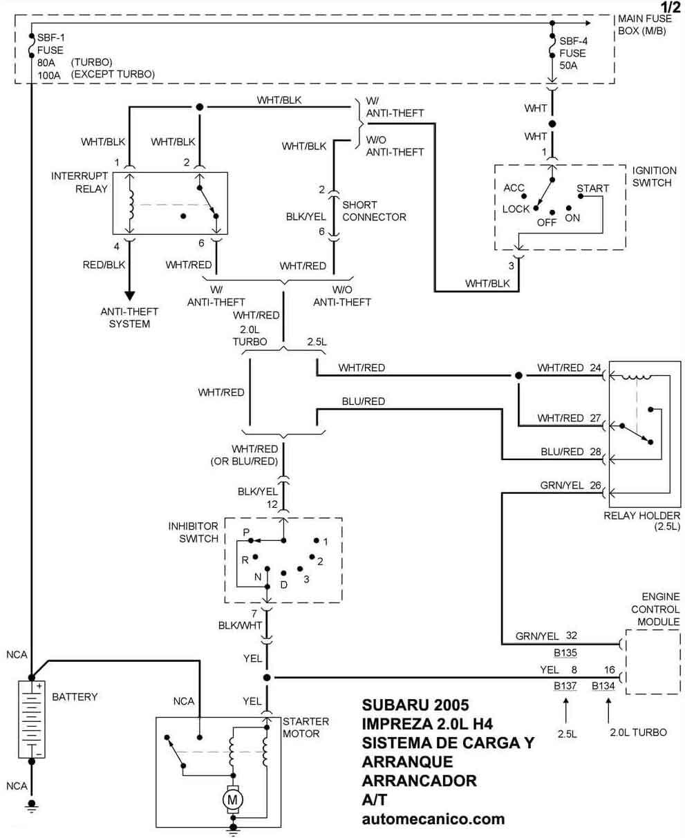 Subaru Diagramas 2005